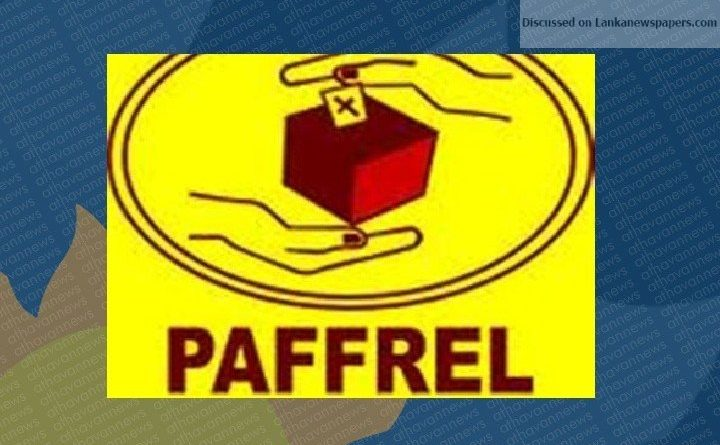 Sri Lanka News for PAFFREL records 614 polls and general law violations