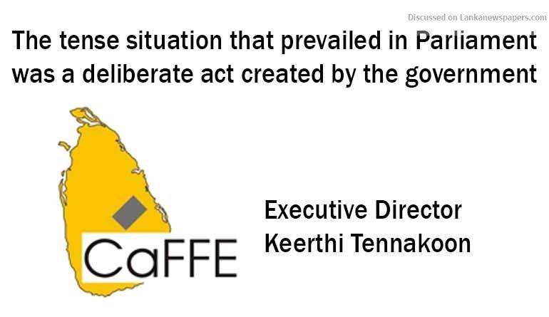 Caffe in sri lankan news
