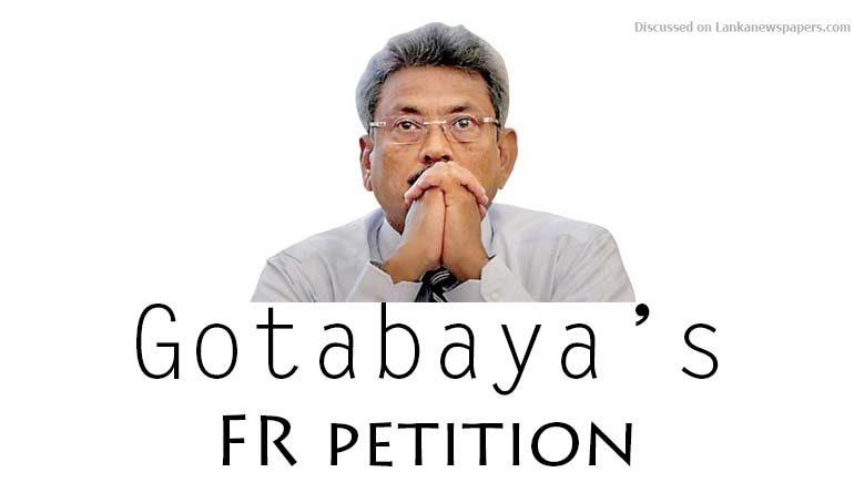Gotabhaya in sri lankan news