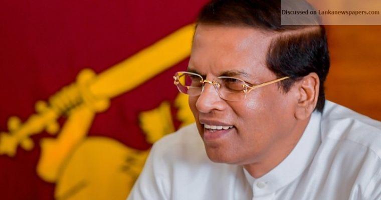 Maithripala.Sirisena 1 in sri lankan news