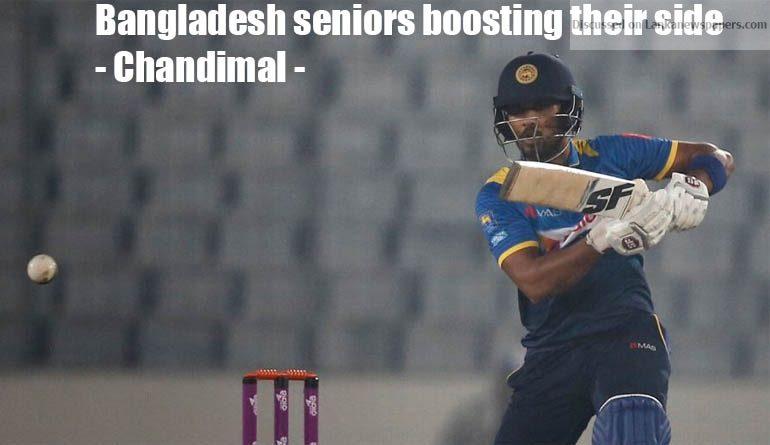 Sri Lanka News for Bangladesh seniors boosting their side – Chandimal