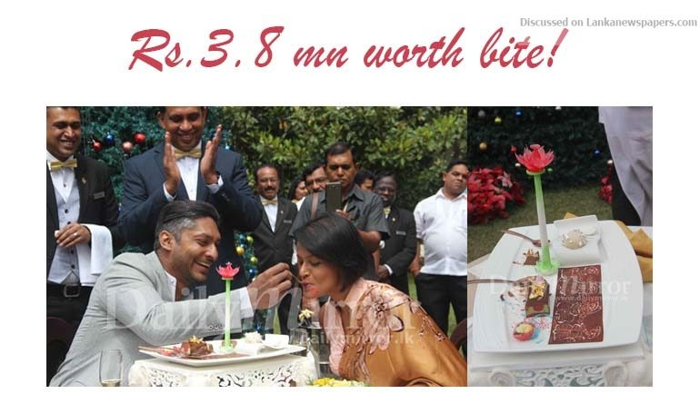 Sri Lanka News for Rs.3.8 mn worth bite!