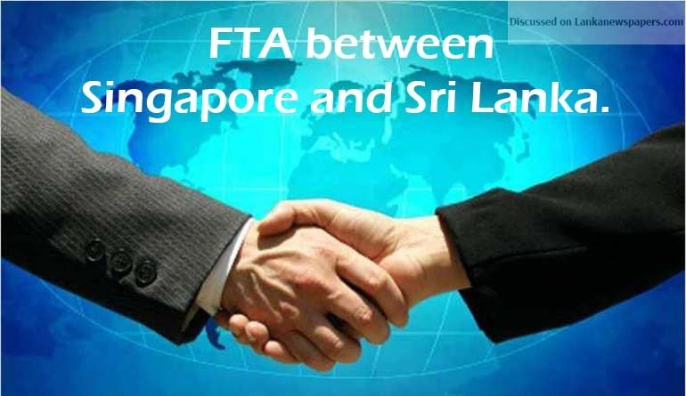 Sri Lanka News for No consent yet to Singapore FTA; professional groups say