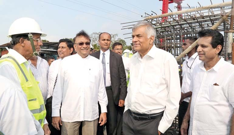 Sri Lanka News for Central Expressway will create vibrant economy- PM