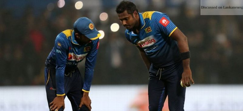 Sri Lanka News for Mathews in doubt for Tests against Bangladesh