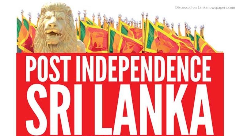 Sri Lanka News for Seven decades of post independent economic under development