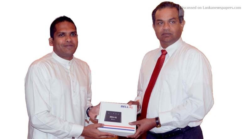 Sri Lanka News for Lanka Bell connects 50,000+ homes, businesses