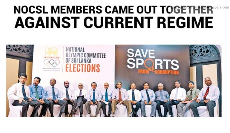 Sri Lanka News for NOCSL Members came out together against current regime Rohan Fernando announces candidacy for presidency