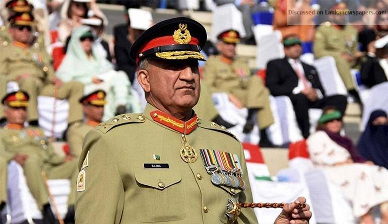 Sri Lanka News for Pakistani army chief to visit Sri Lanka