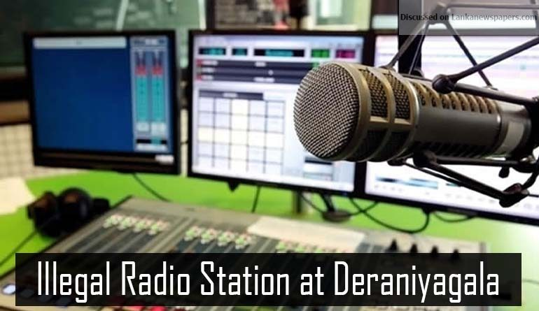 Sri Lanka News for TRC raids illegal FM radio station at Deraniyagala