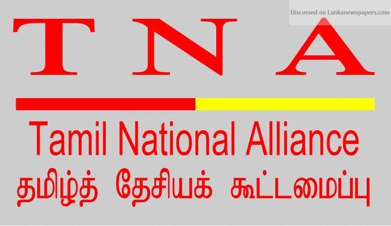 tna in sri lankan news