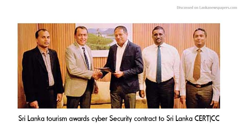 Sri Lanka News for Sri Lanka tourism awards cyber Security contract to Sri Lanka CERT|CC