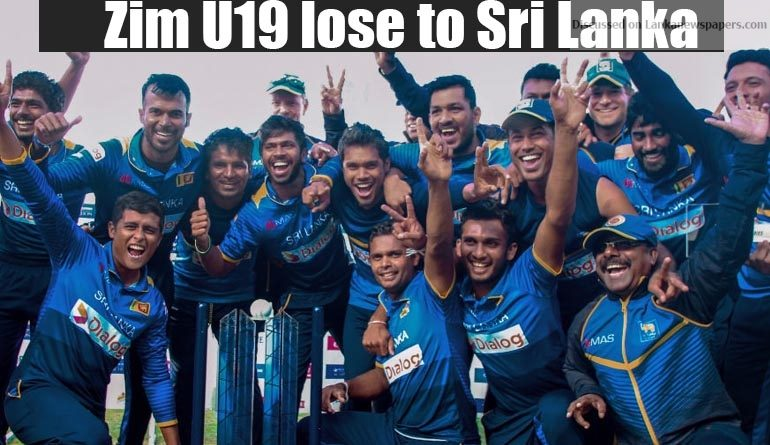 Sri Lanka News for Zim U19 lose to Sri Lanka