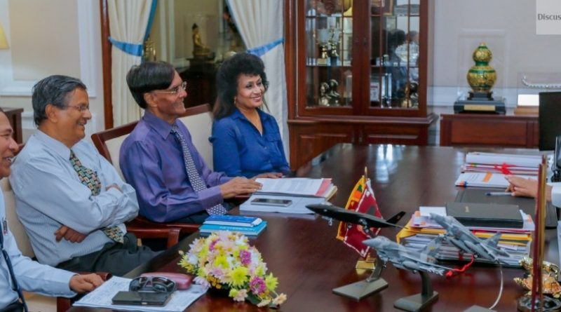Sri Lanka News for First draft of National Sustainability Dialogue presented to President