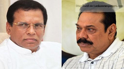 1518767419 maithripala sirisena and mahinda rajapaksa 3 in sri lankan news