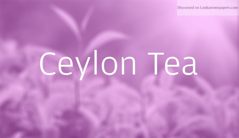 CEylon tea in sri lankan news