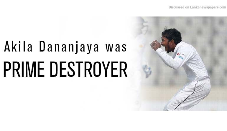 Sri Lanka News for Dananjaya takes five as Sri Lanka clinch series