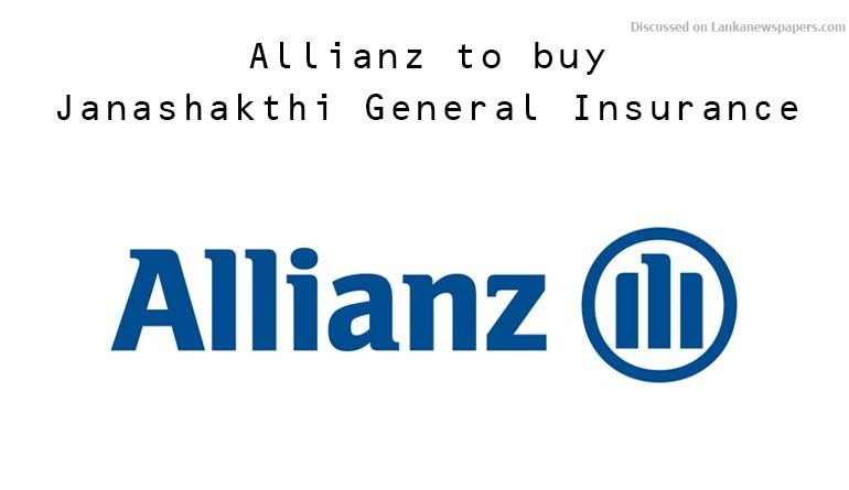 allianz in sri lankan news