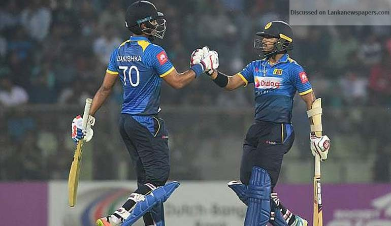 Sri Lanka News for We didn't just play as a team, we played as a family: Chandimal