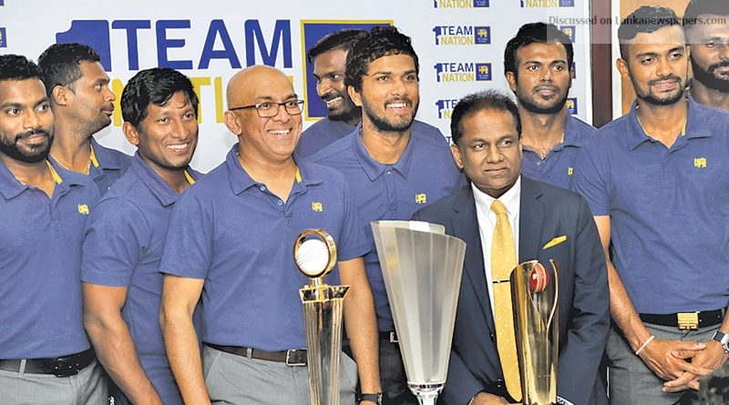 Sri Lanka News for Victorious SL cricketers return