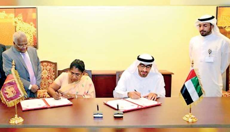 Sri Lanka News for Sri Lanka, UAE sign MoU on cooperation in labour sector facilitating recruitment of domestic workers