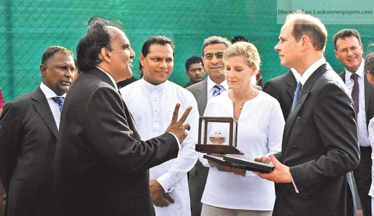 Sri Lanka News for Royal couple lays foundation stone for SLTA's new Tennis Complex