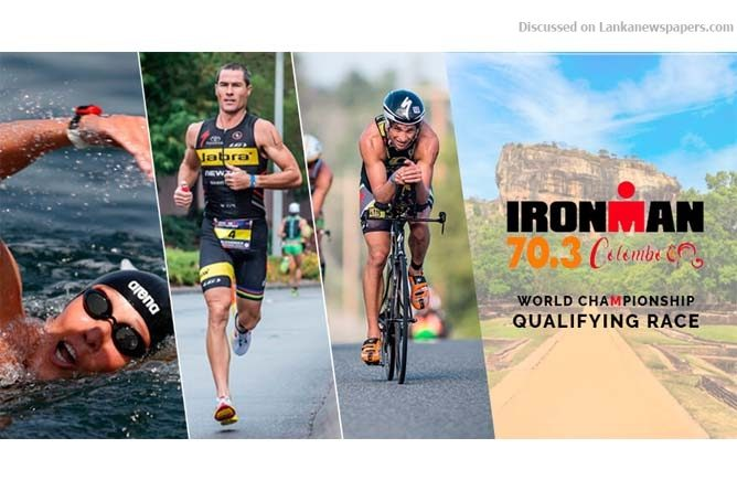 Sri Lanka News for Sri Lanka Wonder of Asia Ironman 70.3 Colombo Triathlon