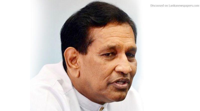 z p01 Minister in sri lankan news
