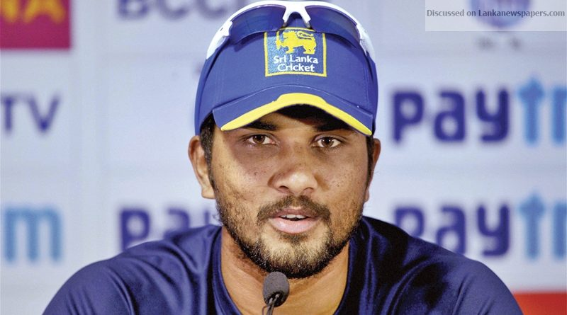 Sri Lanka News for Chandimal has more hurdles to clear