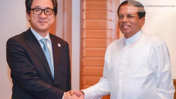 Sri Lanka News for Japan- Sri Lanka Investment Forum under President's patronage