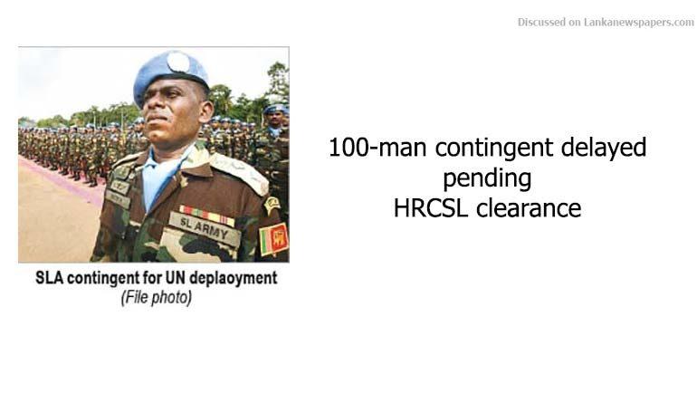 100 men in sri lankan news
