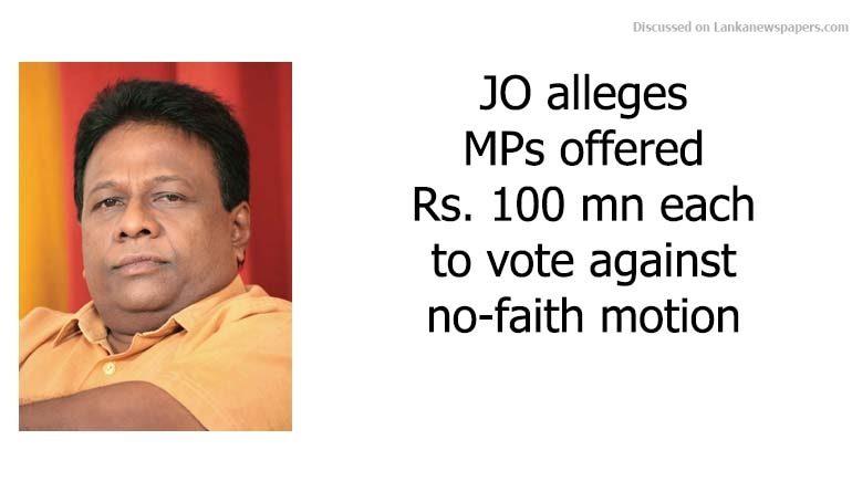 JO in sri lankan news