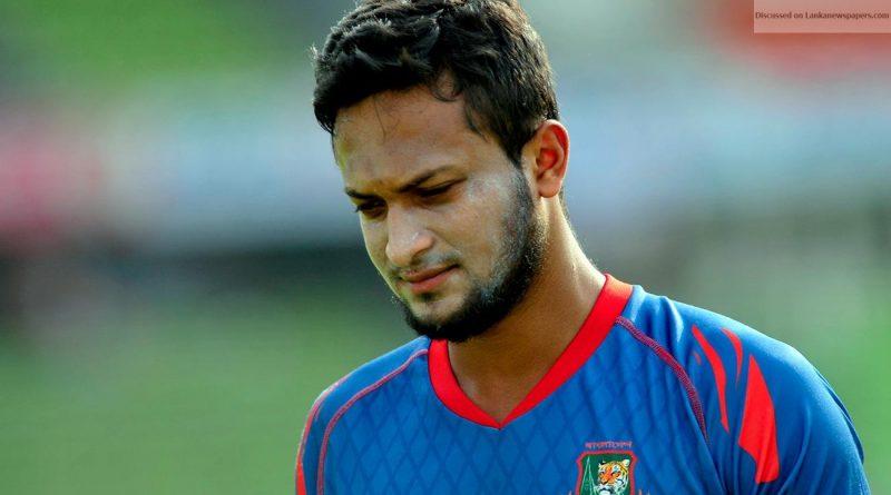 Shakib Al Hasan in sri lankan news