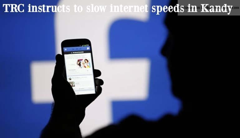 Sri Lanka News for TRC instructs to slow internet speeds in Kandy