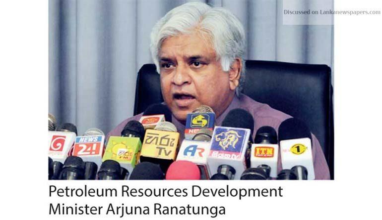 Sri Lanka News for Arjuna shuts down fuel pricing formula