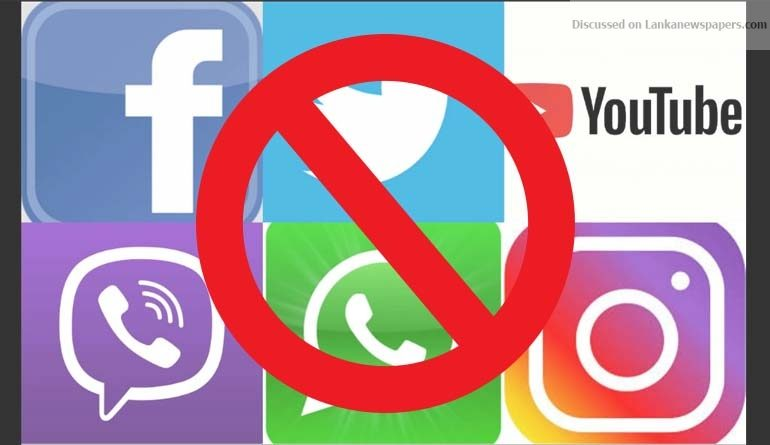 Sri Lanka News for FB, Viber, WhatsApp and social media blocked – TRC