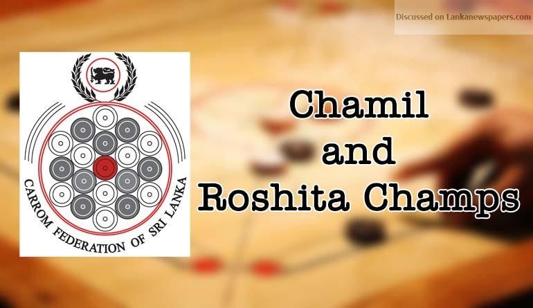 Sri Lanka News for Chamil and Roshita Champs