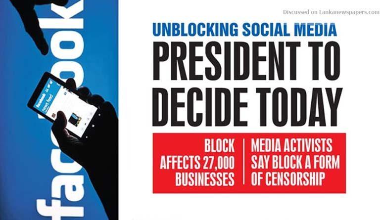 fb in sri lankan news