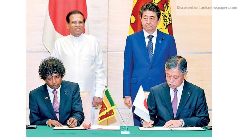Sri Lanka News for Japan extends Rs. 15.6 b for health and medical service improvement project