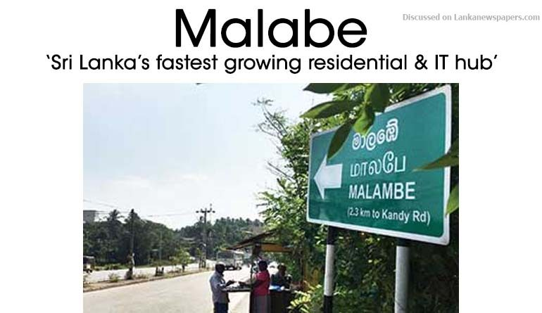 Sri Lanka News for Malabe – 'Sri Lanka's fastest growing residential & IT hub'