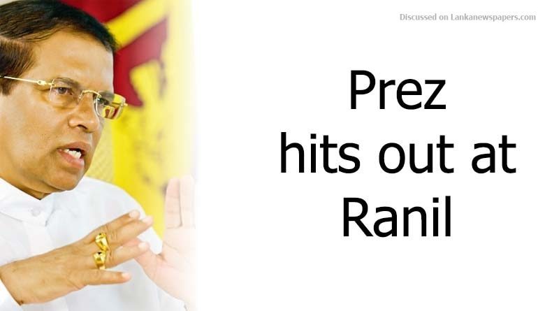 prez in sri lankan news