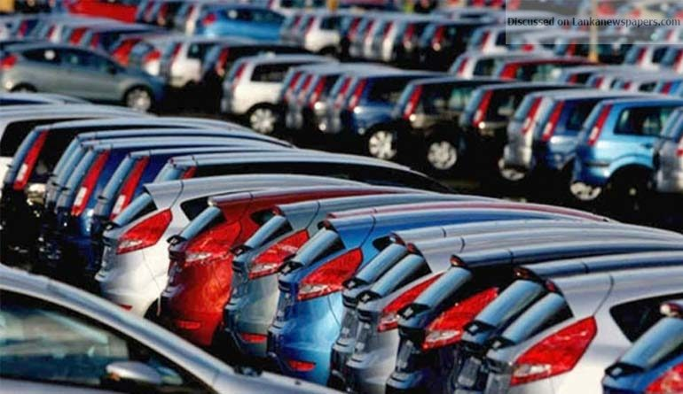 Sri Lanka News for Vehicle registrations rebound following duty cuts