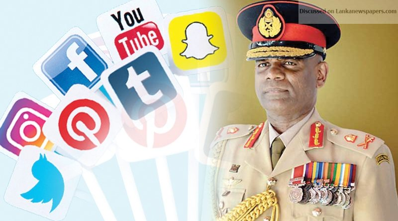Sri Lanka News for Social media restricted for Army Personnel