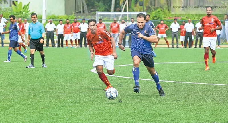 Sri Lanka News for Sri Lanka's first artificial football ground opened in Beddegana