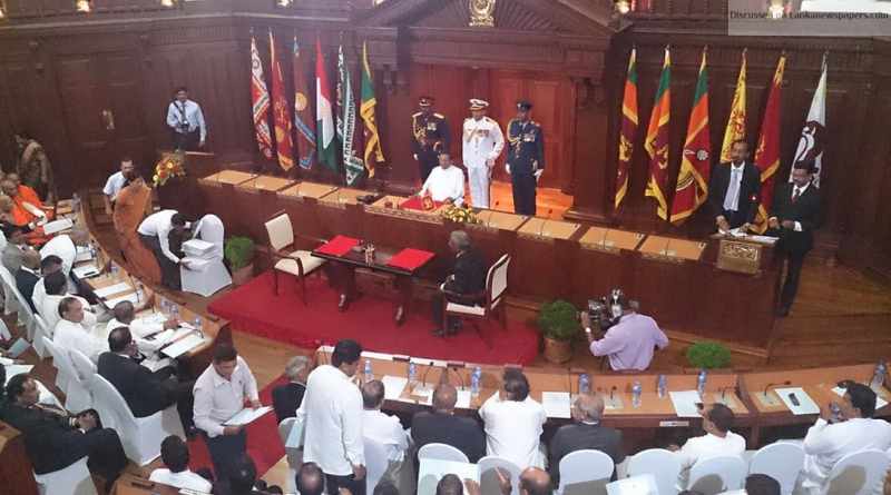 Sri Lanka News for Four temp. Ministers appointed in place of six SLFPers