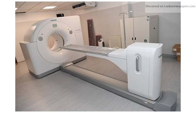 Sri Lanka News for Apeksha Hospital's PET Scanner vested with the public