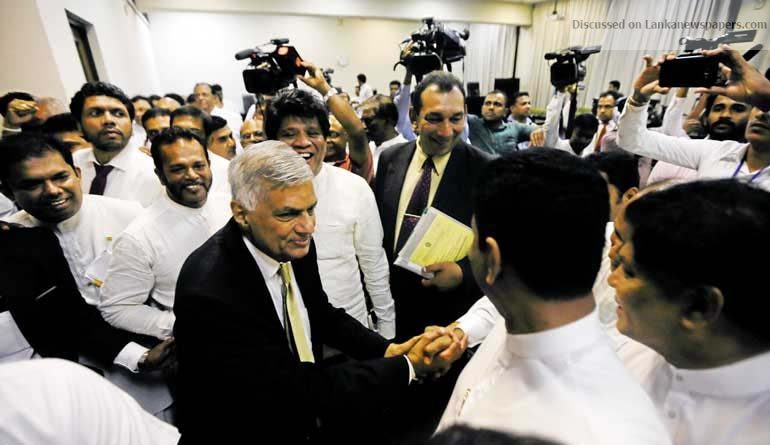 Sri Lanka News for PM thanks supportive MPs, admits shortcomings, vows to strengthen Govt. and UNP