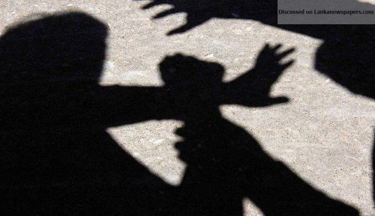 assault in sri lankan news