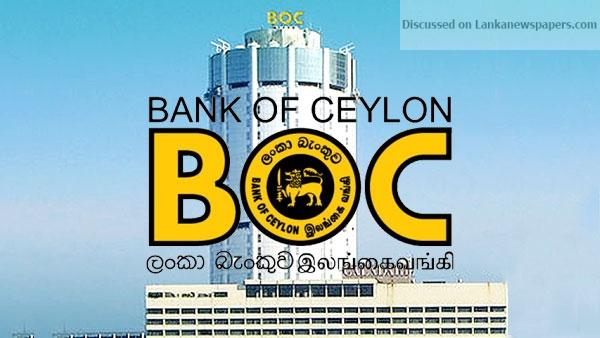 boc in sri lankan news