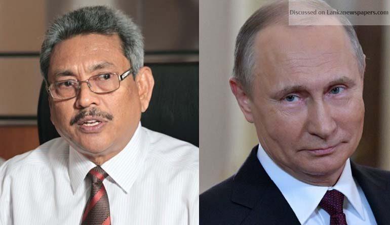 Sri Lanka News for Putin Gotabaya In Context – Pun Intended